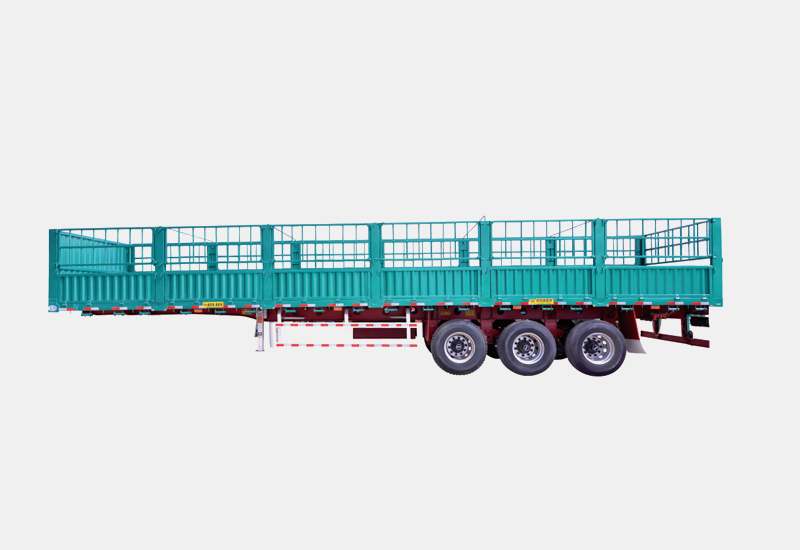 title='High strength steel Truck Semi Trailer with Fence'