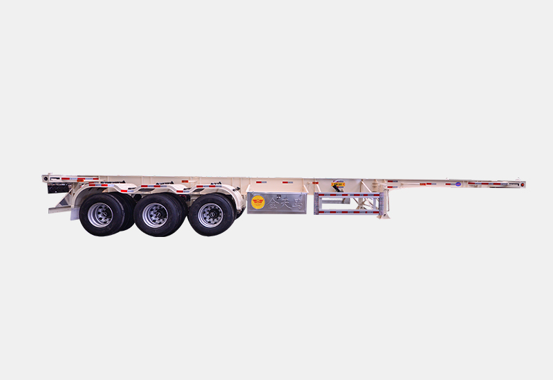 title='40FT Hazardous article Skeleton semi trailer'
