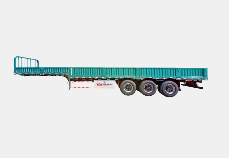 title='High strength steel Goose Neck Standard semi-trailer'
